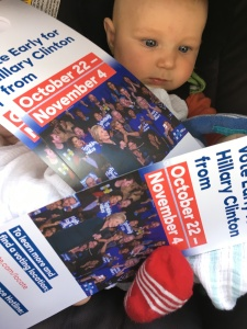 Ready to canvass in Reno, Nevada!